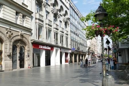 knez mihailova street in belgrade